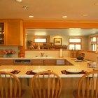 Cómo separar una cocina y un comedor con una barra