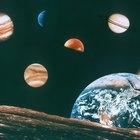 Características dos oito planetas