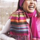 Closeup of scarf