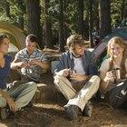 Campamentos cerca de Danbury, Wisconsin