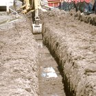 What Is the purpose of a sump in a trench?