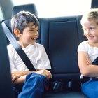 Estatura mínima para un niño en el asiento delantero