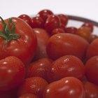 Cómo lavar los tomates
