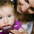Como tirar manchas de picolé de uva