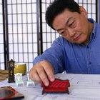 Como fazer miniaturas de móveis de papel