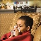 Cómo aliviar la congestión nasal en los niños