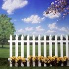 Formas baratas de cercar tu jardín
