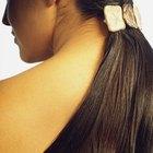 Cómo hacer colas de caballo postizas con extensiones de cabello