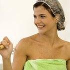 Como fazer uma touca de banho improvisada