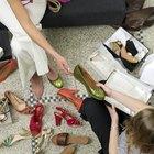 Cómo convertir el número de zapatos de mujer en números para niños