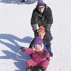 Actividades para niños pequeños en invierno en el norte de Michigan