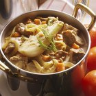spanish cuisine callos beef tripes with sauce