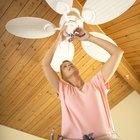 Cómo lubricar un ventilador de techo