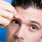 Como tirar algo da pálpebra superior do olho