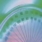 How to make a 360 degree protractor using a paper plate