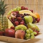 ¿Qué frutas y verduras pueden comer las cacatúas?