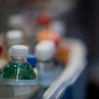 ¿Qué químicos contiene el agua embotellada?