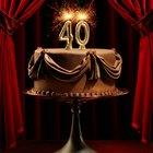 Boas ideias para o aniversário de 40 anos de uma mulher