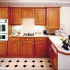 How to replace doors on a kitchen cabinet with curtains