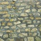 ¿Qué tipo de mortero puedo usar para un muro con piedras apiladas?