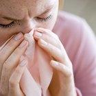 Sintomas de gripe acompanhados de erupção cutânea