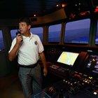 El salario promedio de un oficial de puente de la marina mercante