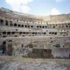 Armaduras e armas do gladiador romano
