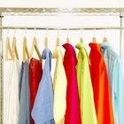 Cómo quitar los hongos de las prendas de color