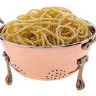 Usos para el agua almidonosa de las pastas