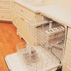 ¿Qué conecciones necesito para un lavavajillas?
