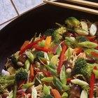 Cómo saltear vegetales congelados