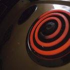 Cómo eliminar manchas por quemaduras en una estufa eléctrica con cubierta de vidrio