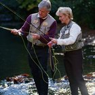 Pesca cerca de Grayling, Michigan