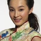 Traje tradicional chino de mujer