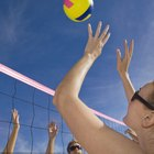 Volleyball Examples of Newton's 3 Laws