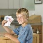 Maneiras simples para uma criança de 10 a 12 anos ganhar dinheiro