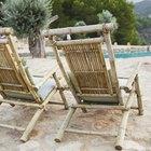 Pintar viejos muebles de bambú