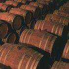 Como limpar barris de vinho
