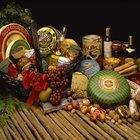 Ideas para canastas de regalo con alimentos