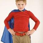 Cómo hacer una capa de Batman para niños