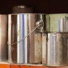 Como retirar a tampa de uma lata de tíner