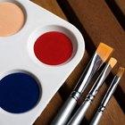 Como fazer tinta cor bronze