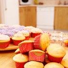 Cómo guardar tortas y magdalenas antes de glasearlas