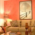 Reglas para pintar una habitación con dos colores