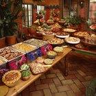 Cómo calcular porciones para banquetes