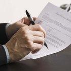 Cómo escribir una carta de recomendación para un amigo para un procedimiento legal