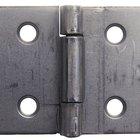 Como remover o pino da dobradiça em uma porta externa pré-montada