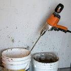 Herramientas y materiales necesarios para hacer paredes de madera con estuco