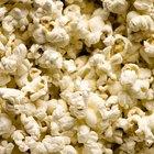 Información de carbohidratos de las palomitas de maíz