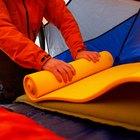 Como fazer colchonetes para acampamento